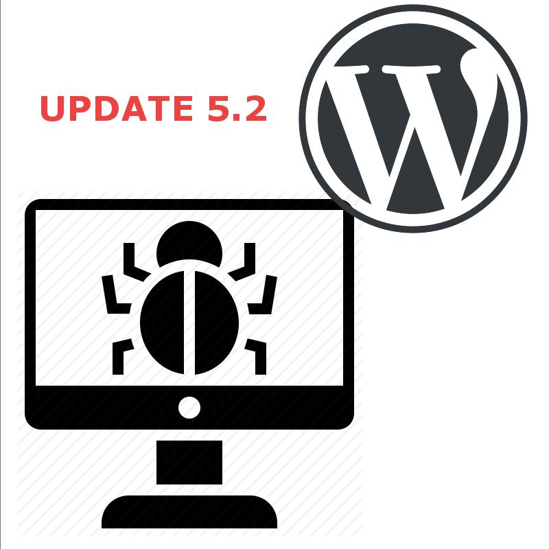 Difficultés techniques avec Wordpress 5.2