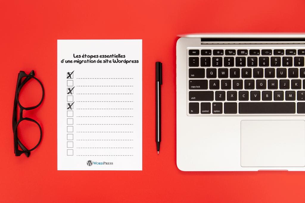 Les étapes essentielles d'une migration de site WordPress
