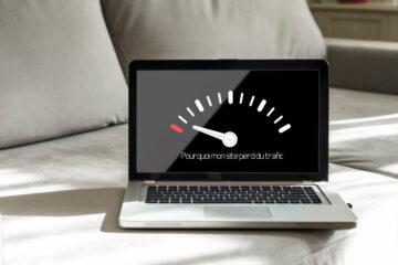 Perte de trafic sur mon site web : que se passe-t-il ?