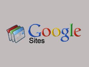 maintenance site web Google Site